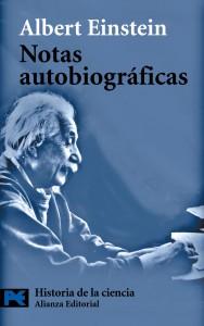 Cubierta de Notas autobiográficas, Albert Einstein