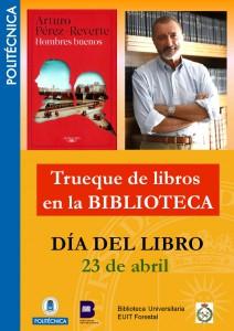 CARTEL TRUEQUE DE LIBROS 2015