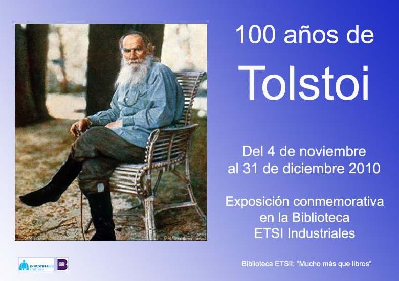 Exposición 100 años de Tolstoi