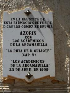 Argamasilla Azorín Aranjuez