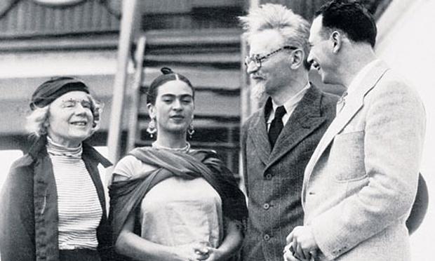 Trostsky y Frida