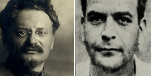 Trotski y Mercader