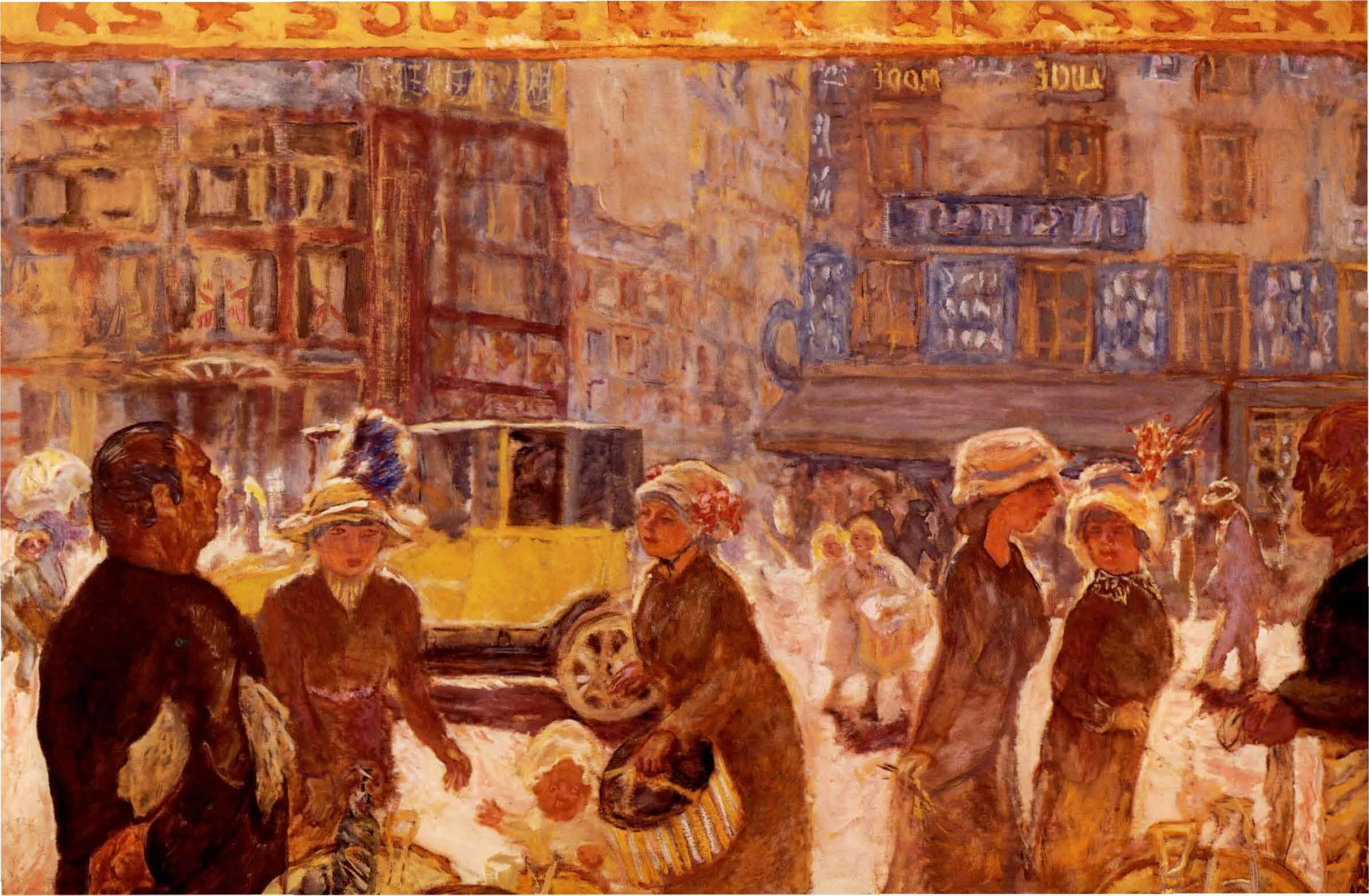 Pierre Bonard, La place Clichy. 1912