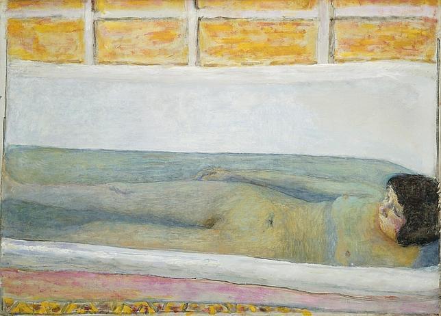 Pierre Bonard, El baño (1925)