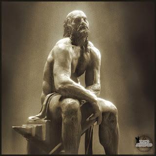 Escultura de Hefesto el Dios lisiado