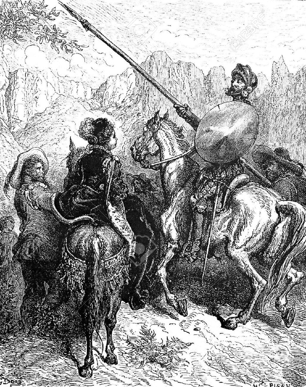 Ilustración de Gustavo Doré. 1863