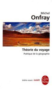 Théorie du voyage (couv orig Livre de Poche)