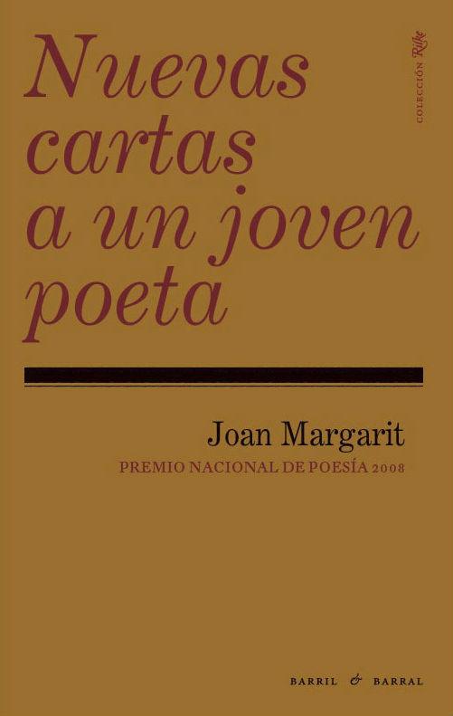 carátula del libro de Joan Margarit