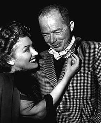 Fotografía Billy Wilder y Gloria Swanson (1950)