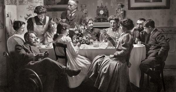 Autorretrato familiar. 1907. Antonio García. Museo Sorolla.