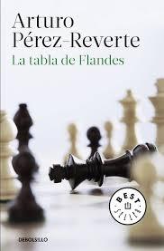 Cubierta de La tabla de Flandes, Arturo Pérez-Reverte