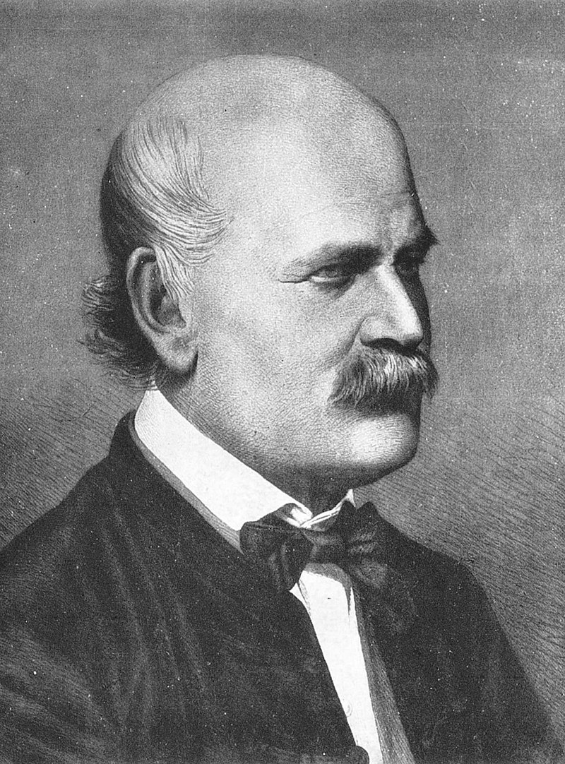 "Semmelweis, Ignaz, 1.7.1818 - 13.8.1865, Austrian physician, ""Saver of Mothers"""