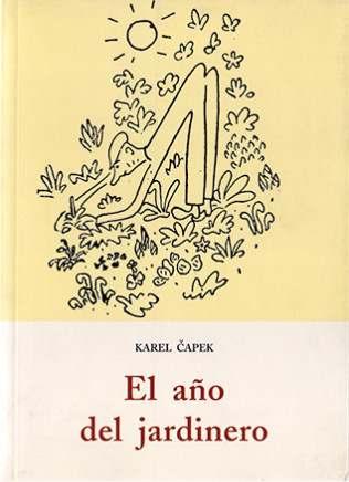 Cubierta de El año del jardinero, Karel Capek