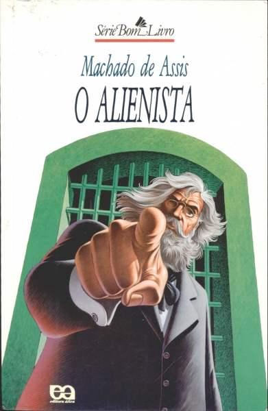 Cubierta de O alienista de Joaquim Machado de Assís