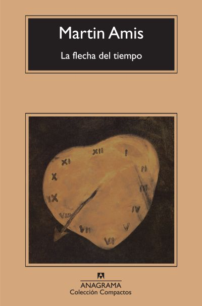 Cubierta de La flecha del tiempo. Martin Amis