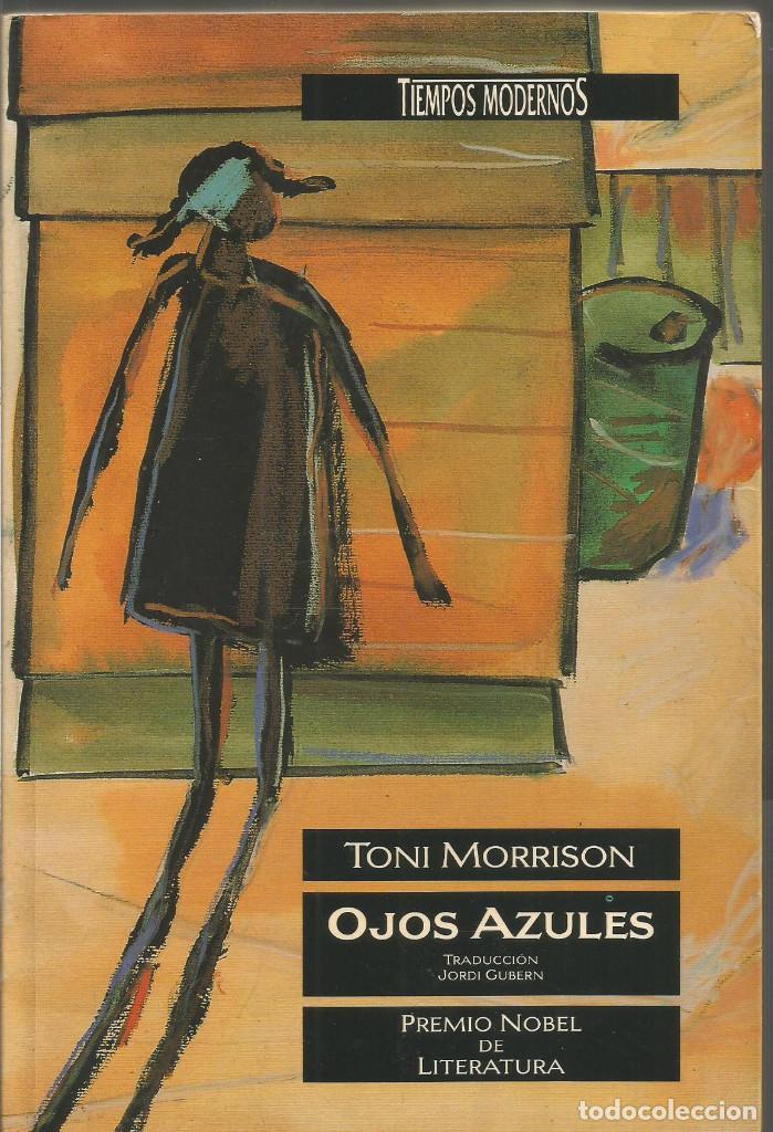 Cubierta de Ojos azules, Toni Morrison