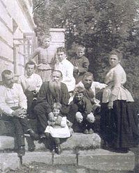 La familia Tolstoi