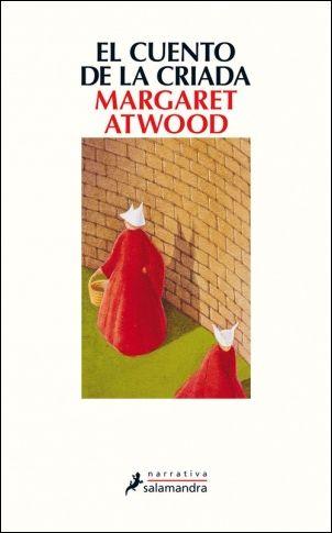 Cubierta El cuento de la criada, Margaret Atwood