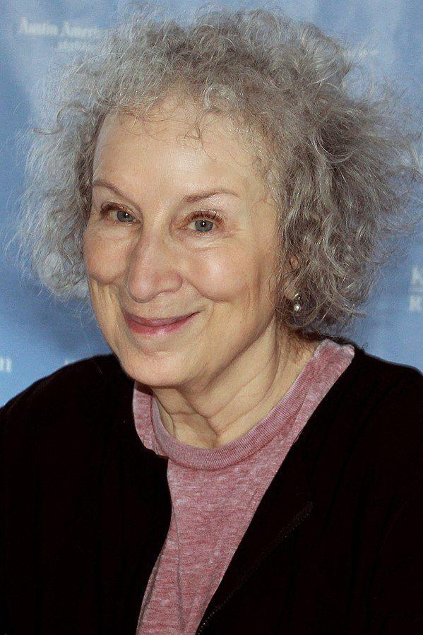 Margaret Atwood en el Festival Literario de Austin (Texas) del 2015. Autor: Larry D. Moore. Fuente: 'Wikimedia Commons' (https://bit.ly/3dlb31r).