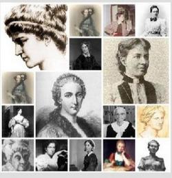retratos de mujeres matemáticas