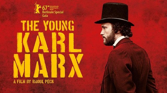 Anuncio de la película El joven Marx