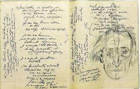 cuaderno de  Antonin Artaud