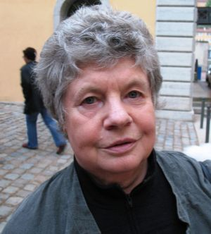 Fotografía de A.S. Byatt en 2007