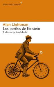 Cubierta Los sueños de Einstein, Alan Lightman