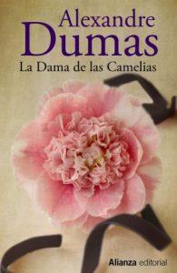 Cubierta de La dama de las camelias, Alejandro Dumas