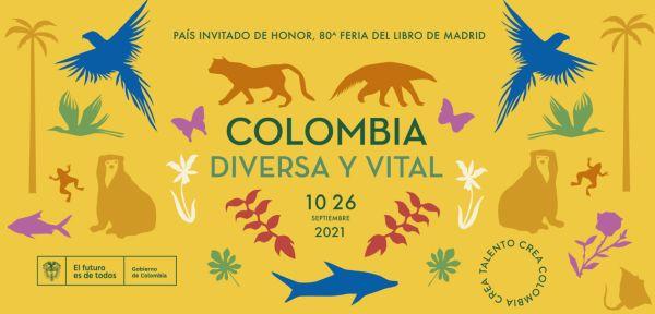 Feria del libro Madrid: país invitado Colombia