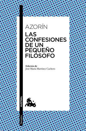 Cubierta de Las confesiones de un pequeño filósofo, Azorín