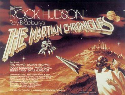 Cartel de Miniserie de Crónicas marcianas