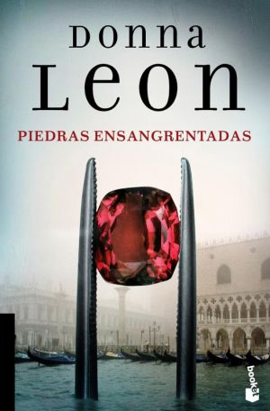 Cubierta Piedras ensangrentadas, Donna Leon