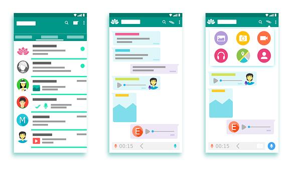 Apps para la comunicación instantánea entre profesores y alumnos