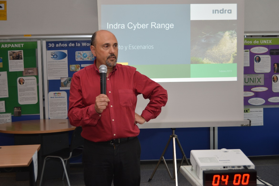 CTF Cibersecurity Training Competition in Collaboration with INDRA
