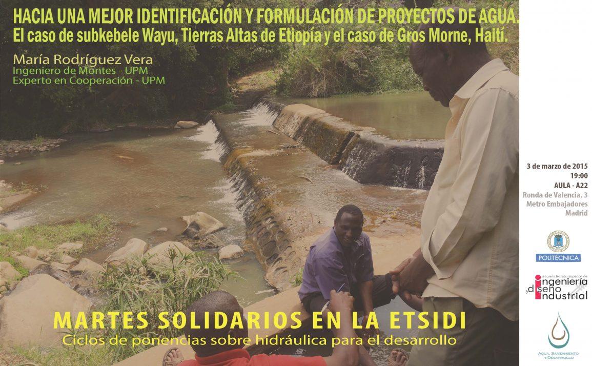 Hacia una mejor identificación y formulación de proyectos de agua-3 mar 2015